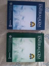 Livros enfermagem volumes 1 e 2