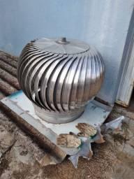 Exaustor Eólico 60cm completo usado