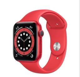 Apple Watch S6 44mm Vermelho Red / Lacrado / Aceitamos o seu na troca !