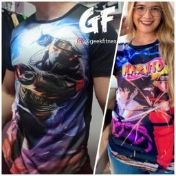 Camisas Naruto Unissex Promoção!