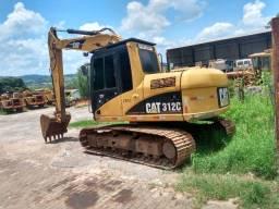 Escavadeira Caterpillar 312C ano 2006 (13 toneladas)