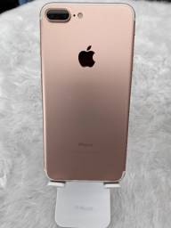 IPhone 7 Plus 128gb- Rosa Bateria 100%- (3 meses de Garantia)