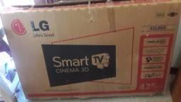 Tv smart 42 com óculos 3D