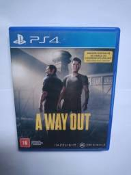 Jogo PS4 - A way out