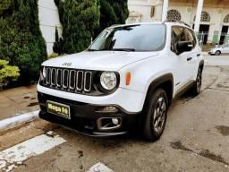 Jeep Renegade Sport 1.8 Flex Branco Completo 2017 Baixo Km Novo