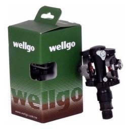 Pedal Cilp Wellgo wpd-823 mtb (novo na caixa)