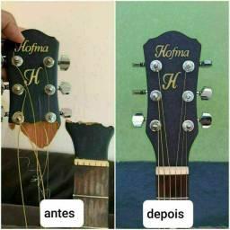 Violas, violões, banjos, cavacos e guitarras