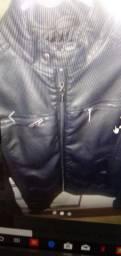 Jaqueta de couro masculino