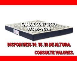 Colchão D33 Casal Master Saúde D33, Certificação do Inmetro!!