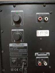 Caixa de som Microlab Usada