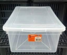 Caixa plástica transparente Pleion - ref. 0340