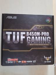 Placa-mãe Asus Tuf B450m-pro Gaming, Amd Am4, Matx, Ddr4