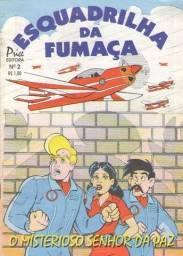 Revista Em Quadrinhos - Esquadrão da Fumaça Ed. 02 - 32pg - 1994