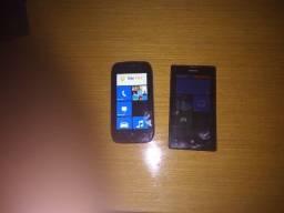 2 Smartphones Nokia (Nokia 710 e Lumia 520)