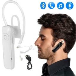 Entrega Grátis - Fone Ouvido Bluetooth Headset Sem Fio Atende Chamada Celular