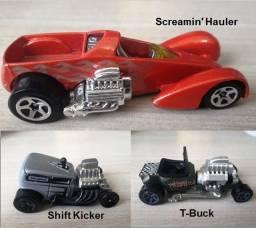 Hot Wheels Lote com 03 miniaturas 1:64