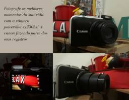Câmera Canon sx 230 hs seminova