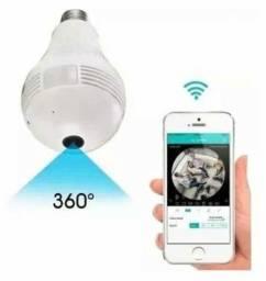 Câmera de Segurança Wi-Fi (Lâmpada Espiã )