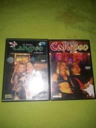 Dvds Banda Calypso ao vivo