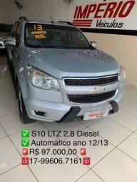 S10 LTZ 2.8 diesel 12/13 automático