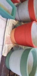 Vasos de cimento Apartir de 30.00 reais