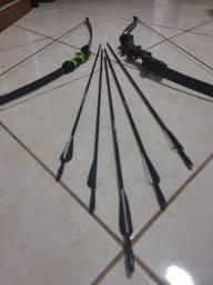 Conjunto de arcos e flechas