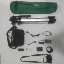 Câmera Semi Profissional Sony Cyber-shot Dsc-h50 Lente Zeiss