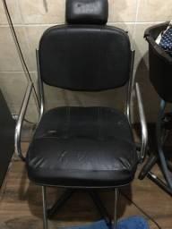 Vendo cadeira para salão e lavatório portátil