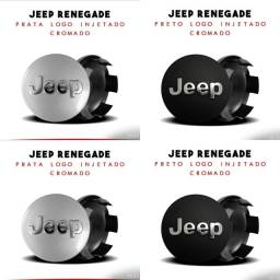Centro de roda Jeep c/ logo anto Relevo