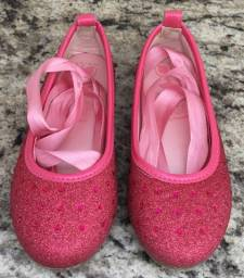 Pampili sapatilha twist bailarina infantil rosa 25