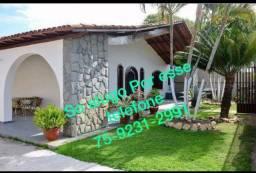 Excelente casa com 5 quartos piscina,pertinho de tudo,falar com Sandra 75 9231 2991