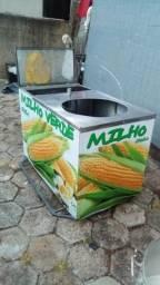 Carrinho de milho verde
