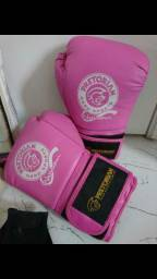 Luva de box rosa - Pretorian