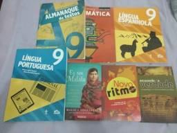 Livros e Paradidático do 9 ano