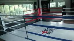 Corners,cordas, esticadores e ítens para ringue de boxe, luta e muay thai