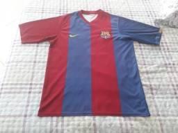 Camisa Usada Barcelona 2006 2007 Nike Original Tamanho M