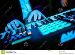 Timbres ritmos programacoes servicos diversos teclado