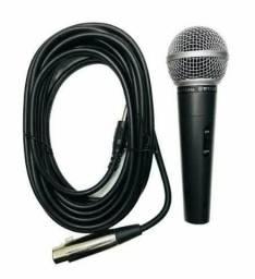 Microfone M58 profissional com fio;) entrega grátis