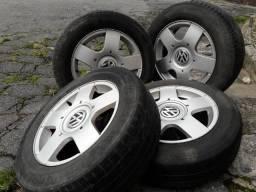 Jogo roda VW Golf Fox Polo barato barato