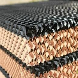 Colmeia placa evaporativa climatizador