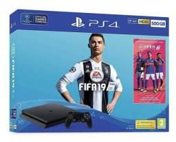 Baixou 12 x R$: 146,74 Nota fiscal - Garantia - Jogo FIFA PlayStation 4 slim 500gb