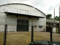 Galpão, estacionamento, BR 316- Canatutama