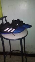 Botinha futsal modelo Adidas Ace