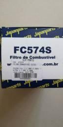 Filtro de Combustível Japanparts FC574S Mitsubishi 3.2 L200 e Full