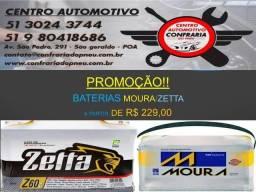 Bateria Moura Zetta em até 12x