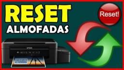 Conserto e reste impressoras ecotank epson L395 L380 L200 .