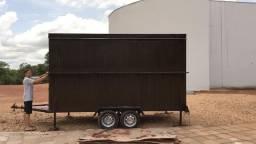 Aluga-se trailler, tipo Food Truck, todo equipado - locação mensal