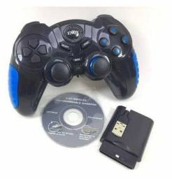 Controle 7 Em 1 Ps1 Ps2 Ps3 Pc Usb Android Wireless