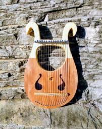 Lira Grega 15 cordas - Harpa