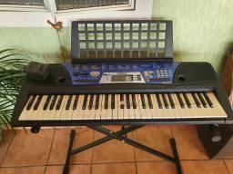 Teclado Yamaha Psr-202+Fonte+Song Book+ Suporte